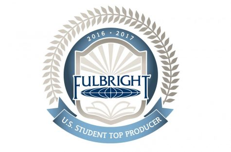"Bates ranks 3rd in 2016 Fulbright ""Top Producers"""