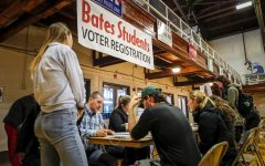 Bates Students register to vote in the 2016 election