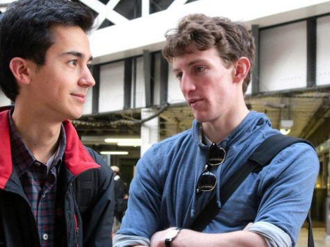 Ian Mahmud '12 and Colin Etnire '12, ranked among the top U.S. debaters in 2011-12