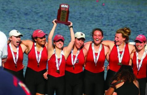 Bates crew conquers New England and ECAC Rowing Championships