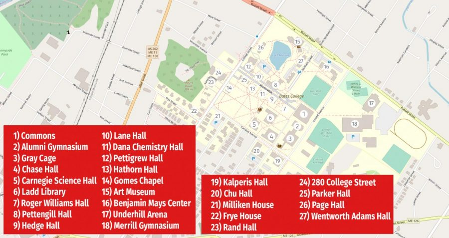 Bates+Campus+Map