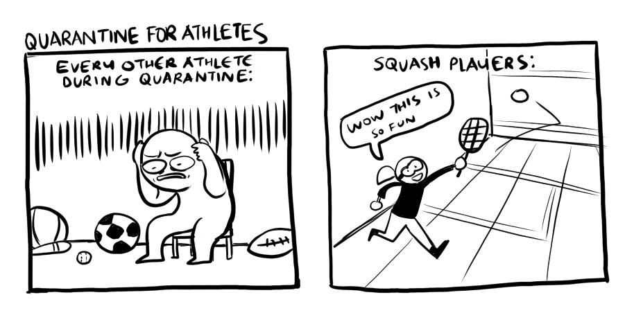 Quarantine for Athletes