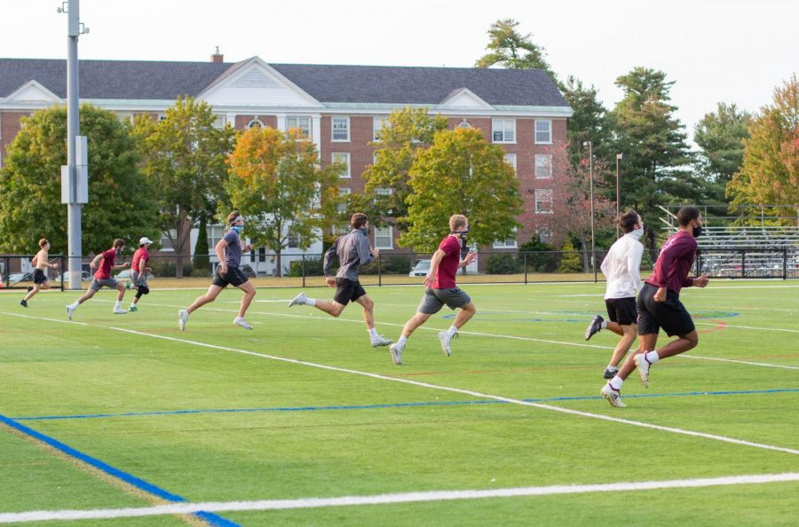 Fall Athletes Return to Practice after Months of Anticipation