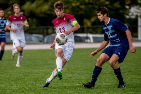 Peder Bakken has endured his fair share of hardships during his career, but remains committed to building a winning culture within the Bates Men's Soccer program.