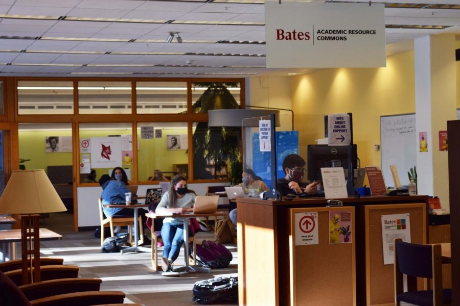 Bates' Academic Resource Commons Copes with COVID