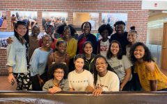 Women of Color group photo from last year.