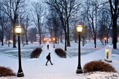 Winter in a Plague: Bates Community Must Manage Expectations