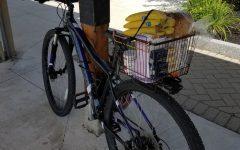 Vanessa Paolella's '21 bike was stolen outside of Merril on Oct. 27.