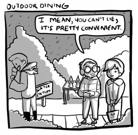 Outdoor Dining in the Winter