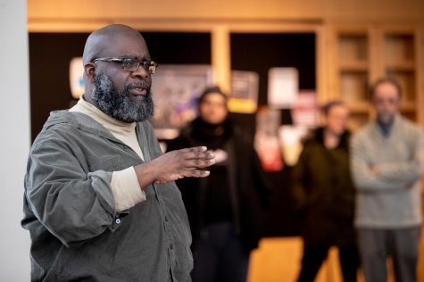 Odle began teaching at Bates in 2017 and was recently offered a promotion from lecturer to a tenure-track position. He will become an assistant professor of theater beginning in the 2021-22 academic year.