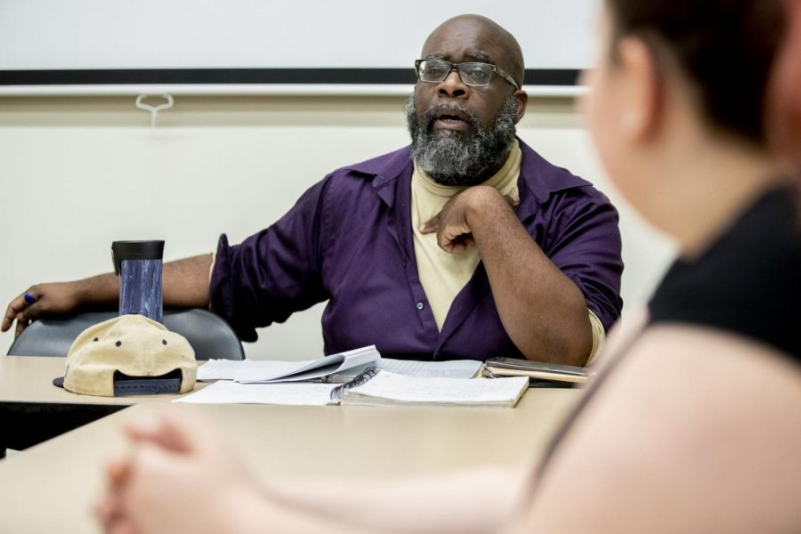 Odle is developing the playwriting program at Bates, teaching the core courses and mentoring playwriting students.