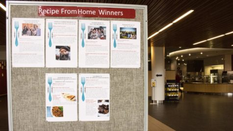 "In addition to featuring student dishes in Commons, CHEWS invited the winners to share their understanding of ""home"" and the significance of their recipes."