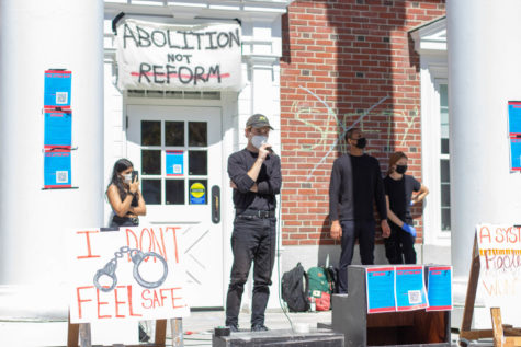Students Gather to Defund and Disarm Campus Safety