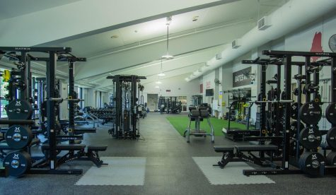 The new and renovated fitness center has impressed many athletes and gym-goers.