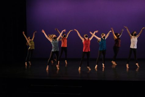 The first-year dance piece is a way of integrating new dance students with the Bates dance community