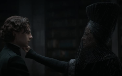 Timothée Chalamet (Paul, left) shows off his impressive acting skills in the box scene, where Paul is confronted with his deepest darkest fears.