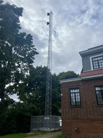 Bates Spends $80,000 on a New WRBC Radio Tower
