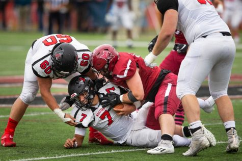 The Bobcats came up short against the Wesleyan University Cardinals on Saturday afternoon.