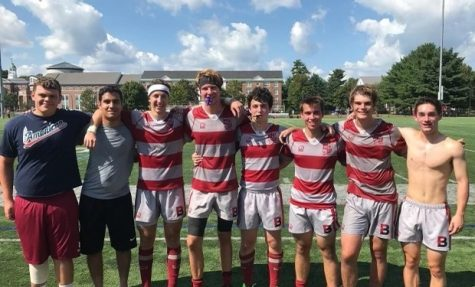 The club rugby team has been an instrumental part of Craig's Bates experience.